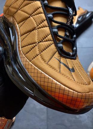 🔥nike air max 720-98 brown black💥мужские стильные кроссовки на...