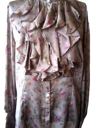 Блуза шелковая  ralph lauren р. 52 - 54