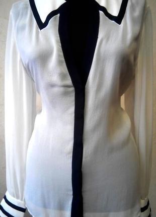 Блуза шелковая jones new york р.48-50