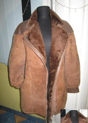 Натуральная женская куртка-косуха на меху. германия. лот 699 с...