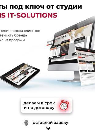 Профессиональная разработка веб-сайтов под ключ