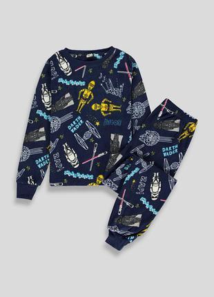 Флисовая пижама matalan 5, 6 лет star wars звездные войны