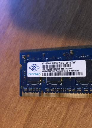 DDR 2 1gb Оперативна пам'ять