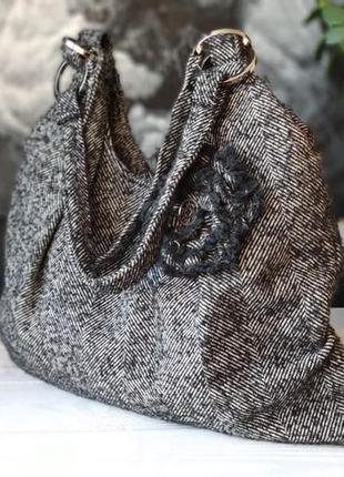 Handmade текстильная  женская сумка