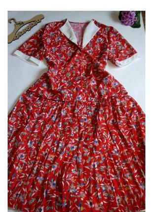 Костюм юбка платье миди нарядное офисное 50  размер