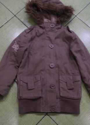 Куртка на девочку 7-8 лет,бренд gloss,рост 128 см