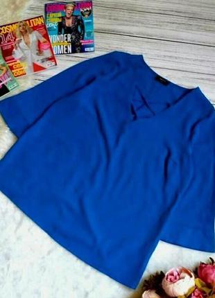 Стильная блуза с с переплетом на груди размер 14-16 (44-46) ак...
