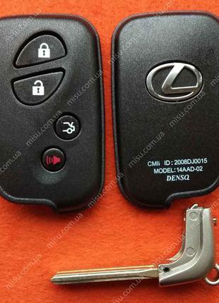 Корпус смарт ключа Лексус 4 кнопки