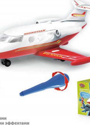 Самолет-конструктор 1373 (72) Play Smart, световые и звуковые ...