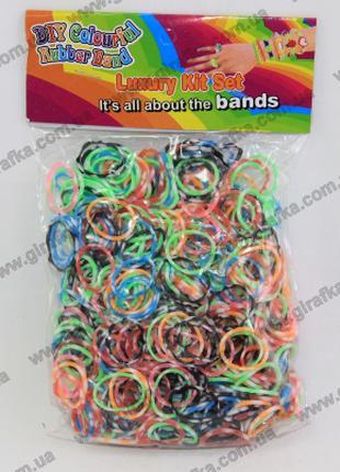 Набор резиночек для плетения 600 штук цветной микс с ароматом