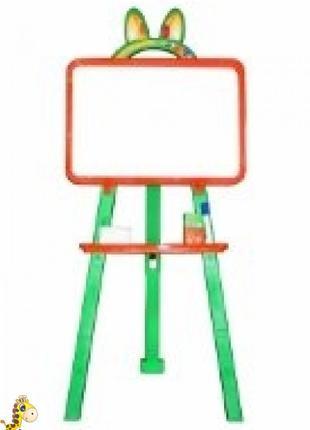Мольберт для малювання магнітна (для мела и маркера), помаранчев