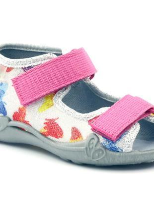 Фирменные текстильные сандалии тм befado (польша) 26 размер