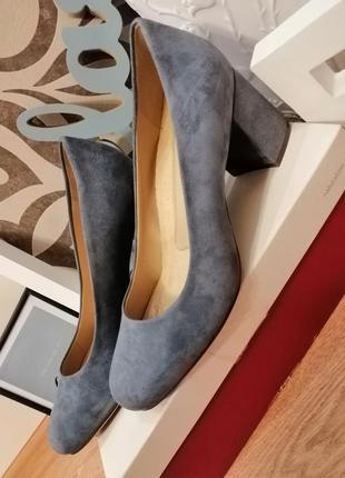 Туфли замшевые naturalizer