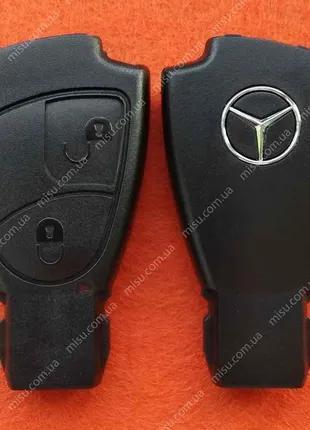 """Корпус ключа """"Рыбка"""" Mecedes Benz 2 кнопки"""