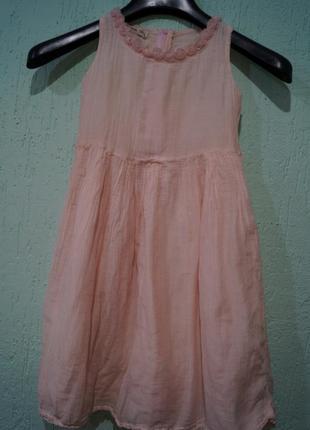 Платье на девочку ,рост 116-122