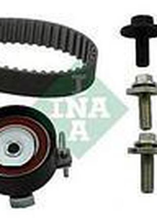 Комплект ГРМ (ремень и ролики) Форд, Мазда, Вольво (пр-во INA ...