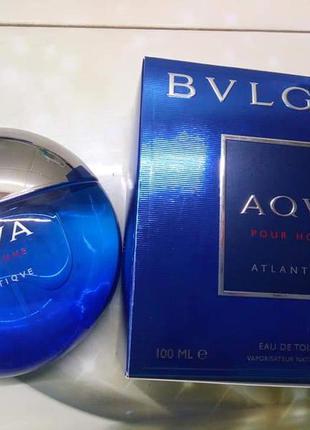 🌹оригинал 🌹100 мл bvlgari aqva pour homme atlantiqve древесные...