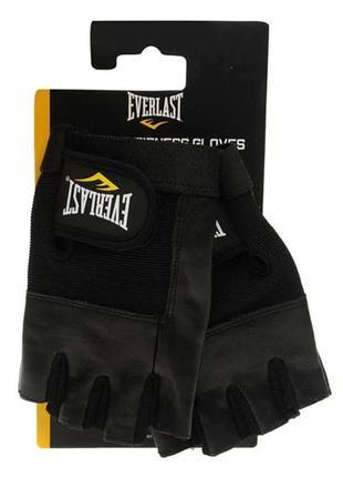 Перчатки кожанные новые для фитнесу еверласт everlast fitness ...