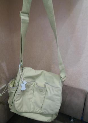 Салатовая спортивная сумка radley акция!!!! при покупке +++под...