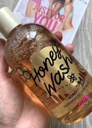 Гель для душа victoria's secret honey wash