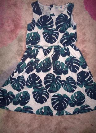Платье h&m 6-8 лет рост 122-128