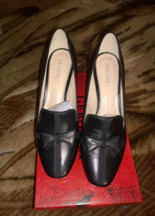 Кожаные туфли geronea размер 39