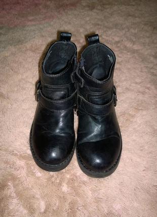 Кожаные ботинки h&m размер 30