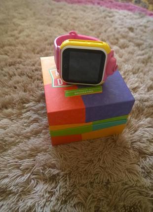 Детские смарт-часы с камерой kids go (pink) sw-058p