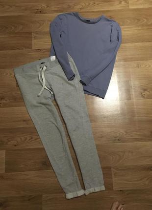 Срочно! переезд! комплект пижама одежда для дома теплая рр m-l...