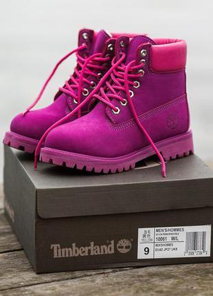 Ботинки timberland яркая модель