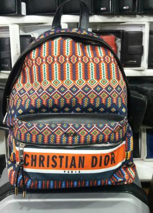 Женский рюкзак в стиле dior диор