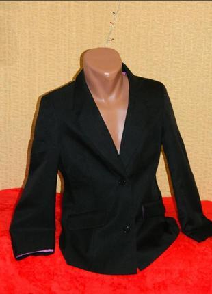 Пиджак черный школьный на девочку подростка 14-15 лет marks &s...