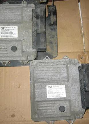 Блок управления двигателем 1,3 Opel Astra H 55202542 MJD602