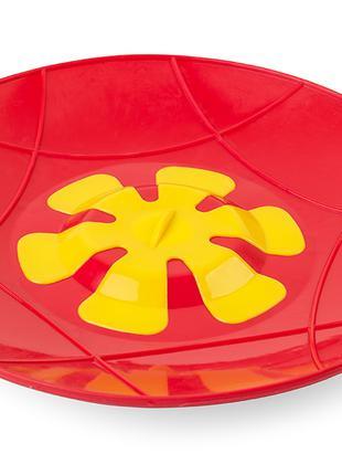 Крышка - невыкипайка силиконовая 30 см. диаметр