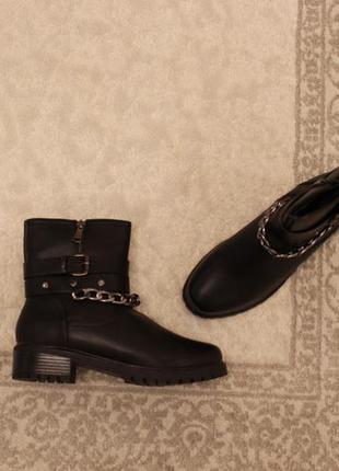 Зимние ботинки 40, 41 размера на низком ходу