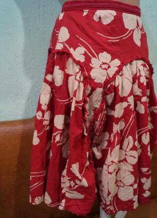 Летняя юбка на девочку 8-10 лет,бренд monsoon