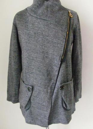 Кардиган-пальто весна-осень, из мягкой, приятной к телу ткани,...