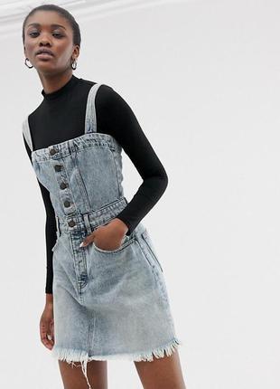 Крутий джинсовий кобінезон від cheap monday (оригінал)