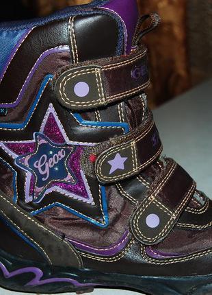 Зимние ботинки geox 28 размер