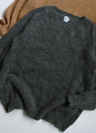 Безумно теплый свитер/шерсть+мохер