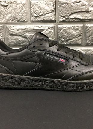 Мужские кроссовки с натуральной кожи Reebok Classic Leather!