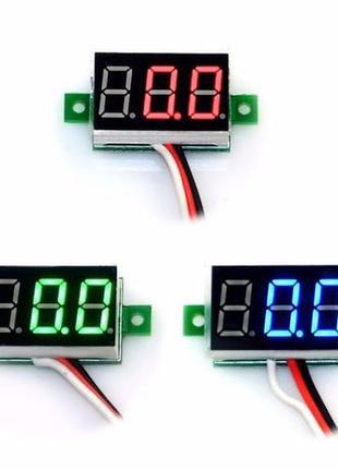 Цифровой вольтметр 0-30V DC