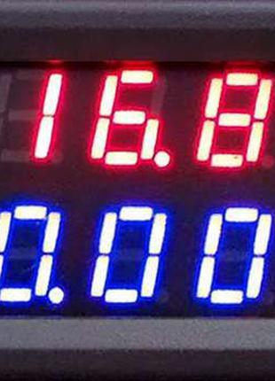 Вольтметр амперметр цифровой с шунтом 0-100В, 10А