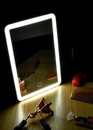 Зеркало для макияжа с LED подсветкой YT-918