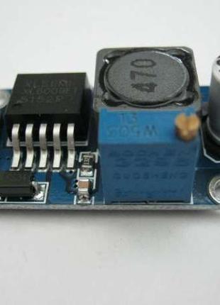 Повышающий преобразователь, модуль DС-DC XL6009(LM2577) 4А, 4-38В
