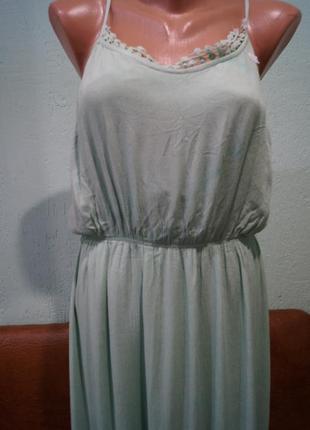 Платье макси р.м,бренд