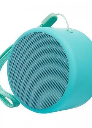 Портативная Bluetooth колонкаBluetooth JEDEL Wave-119 Бирюзовая