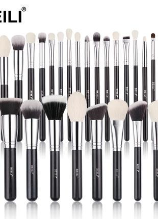 Профессиональные кисти для макияжа Beili натурального и синтетики