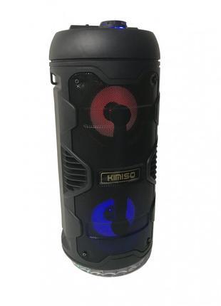 Беспроводная портативная Bluetooth колонка с пультом KIMISO QS...