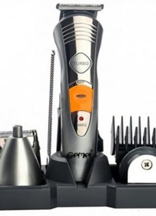 Машинка для стрижки волосся 7 в 1 Geemy GM-580 тример